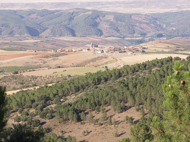 Sierra de Santa Cruz, Aragon weather