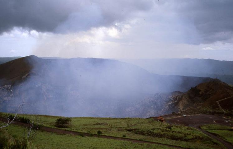 Masaya Volcano weather