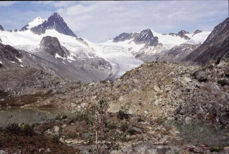 Keele Peak weather