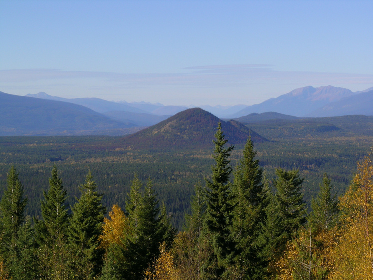 Wells Gray-Clearwater volcanic field weather