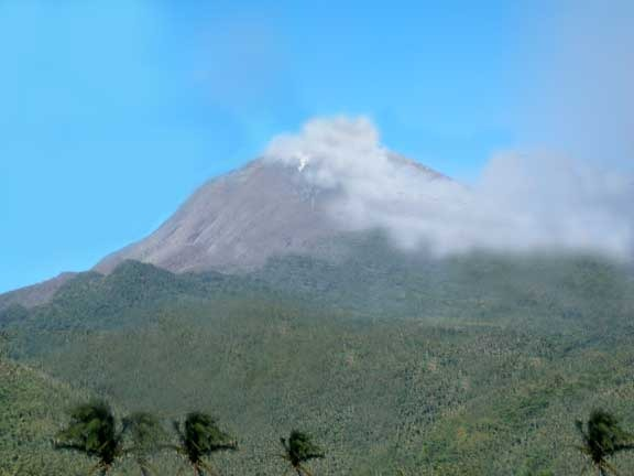 Mount Bulusan weather