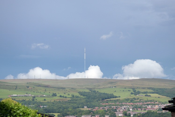 Winter Hill (North West England) weather
