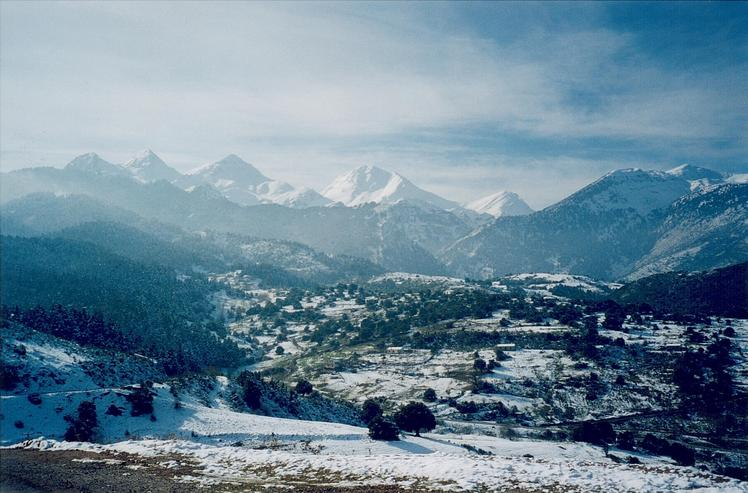 Mount Erymanthos weather