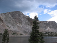 Medicine Bow Peak photo