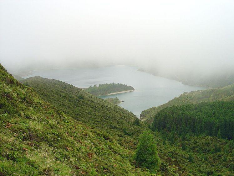 Água de Pau (volcano) weather