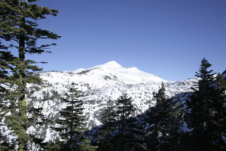 Pyramid Peak (California) weather
