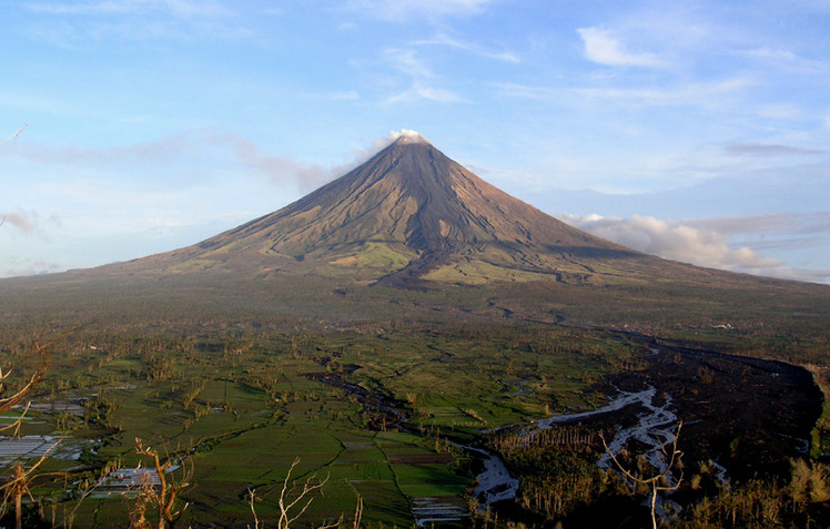 Mayon Volcano weather