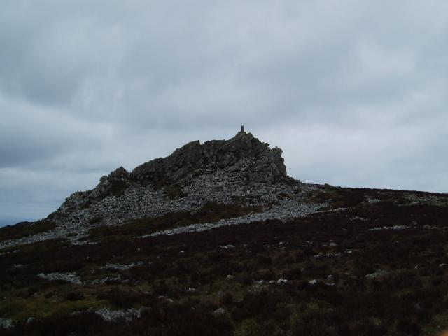 Stiperstones (Manstone Rock) weather