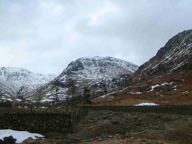 Seathwaite Fell weather