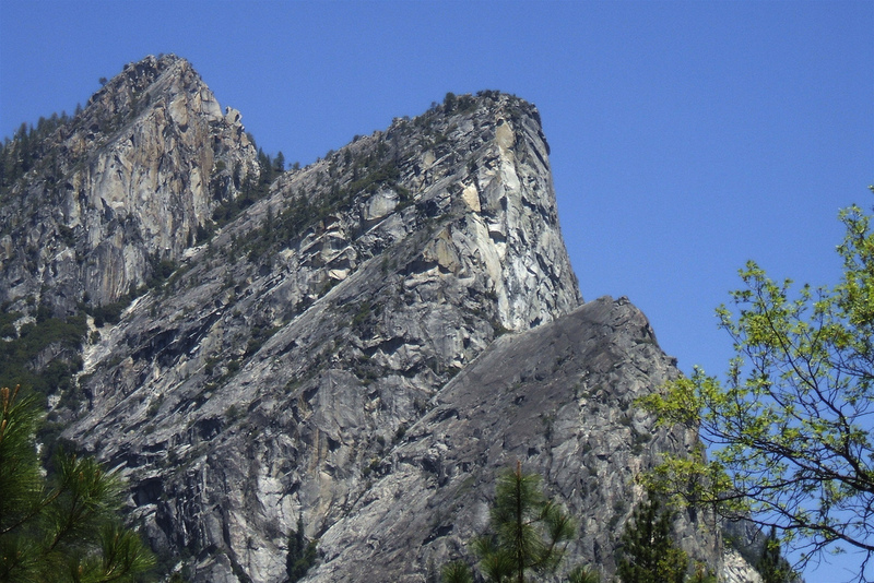 Three Brothers Yosemite Mountain Information