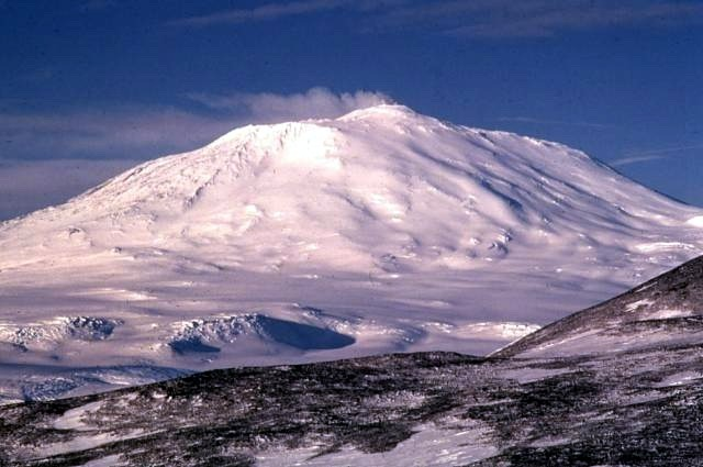 Mount Erebus weather