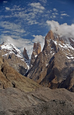 Trango Towers photo