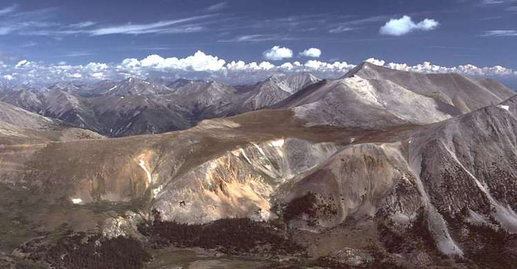 Mount Antero weather
