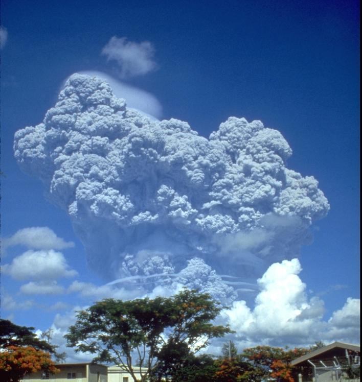 Mount Pinatubo weather