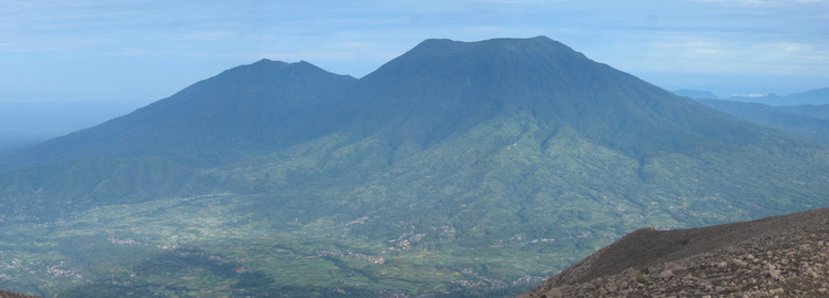 Mount Tandikat weather