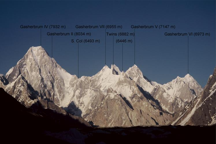Gasherbrum V weather