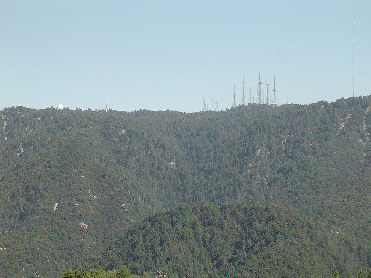 Mount Wilson (California) weather
