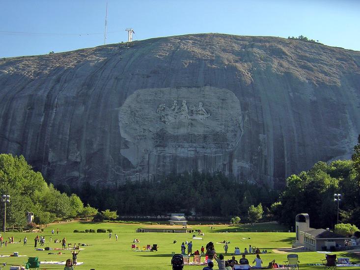 Stone Mountain Nc Elevation : Stone mountain information