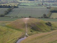 Dragon Hill, Uffington photo