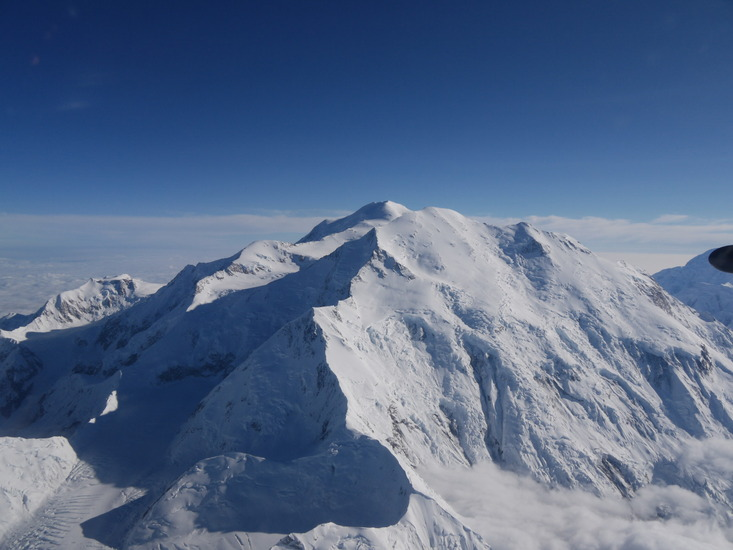 how tall is mt foraker