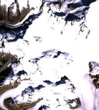 Franklin Glacier Volcano photo