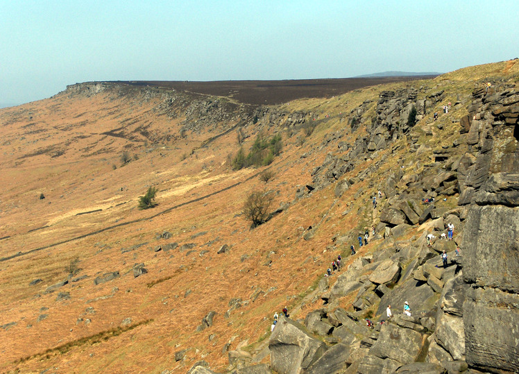 Stanage Edge weather