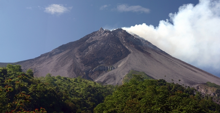 Gunung Merapi weather