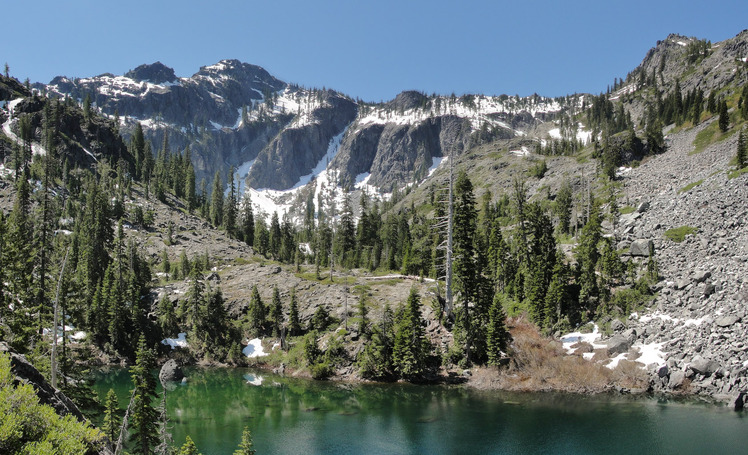 Bear Mountain (Siskiyou County, California) weather