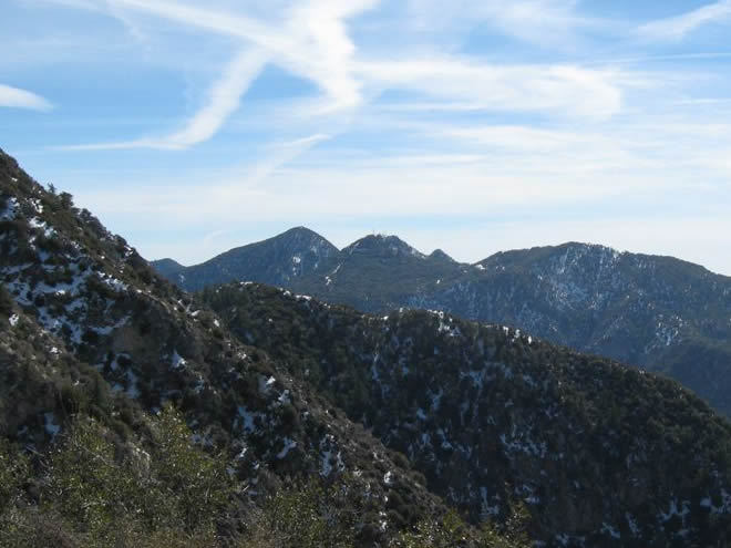San Gabriel Peak weather