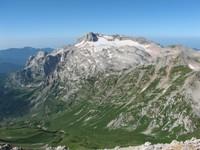 View of Mount Fisht from Mount Oshten photo