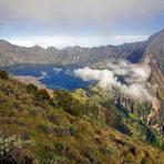 the crater lake, Mount Rinjani