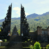 start at the temple Pura Pasar Agung, 1.600m, Mount Agung