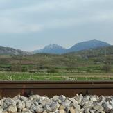 Trem ~ Sokolov kamen < In the distance ..., Trem - Suva planina