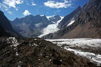 Nevado Juncal from North glacier photo