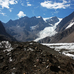 Nevado Juncal from North glacier