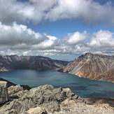 View of Mount Paektu, Mt Baekdu-Mt Changbai