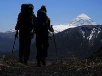 Trekking en Patagonia, Huanquihue Group photo