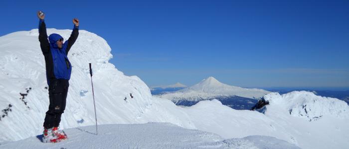 Cumbre del Volcan Lonquimay