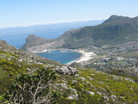 View towards Simonstown, Constantiaberg photo
