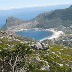 View towards Simonstown, Constantiaberg