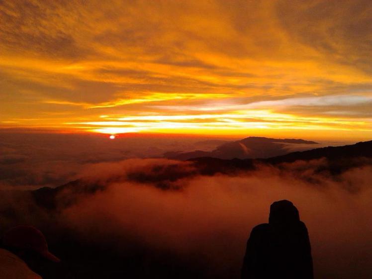 Atardecer, Crestones, Chirripó, Costa Rica., Cerro Chirripo