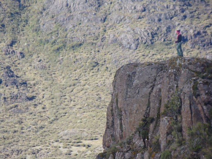 Valle de Los Conejos., Cerro Chirripo