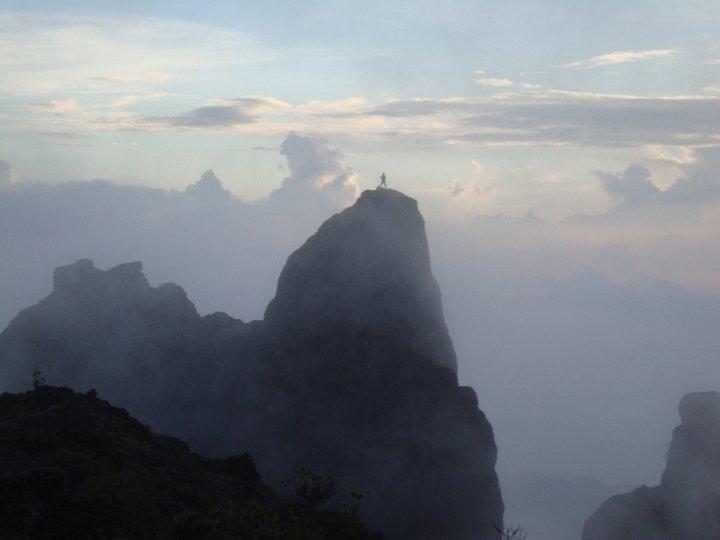 La aguja ,Crestones, Chirripó Costa Rica., Cerro Chirripo