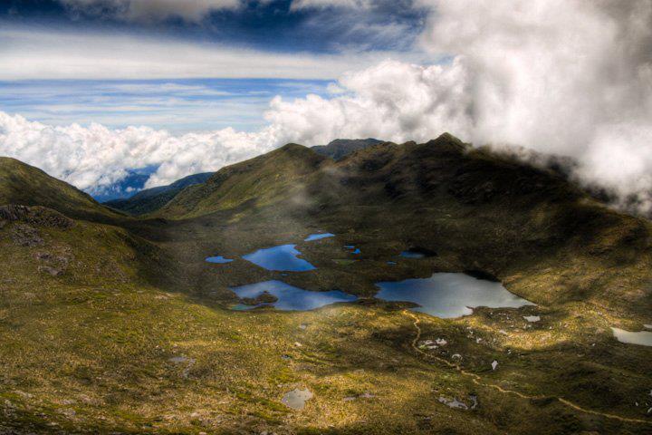 Valle de las Morrenas, Chirripó Costa Rica., Cerro Chirripo