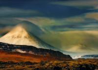 Mt. Baula in Borgarfjörður, Iceland photo