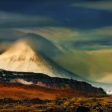 Mt. Baula in Borgarfjörður, Iceland