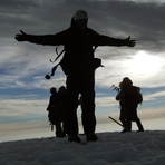 Cumbre del Volcan Lanin