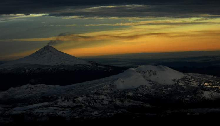 Volcanes Villarrica y Quetrupillan, Volcan Lanin