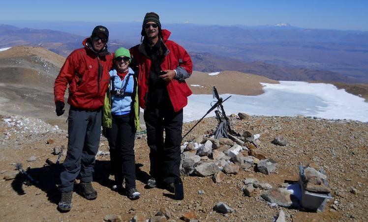 En los 4707 mts, Cumbre del Domuyo, Volcan Domuyo
