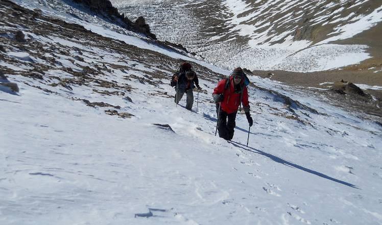 Superando los 4000 mts, Volcan Domuyo